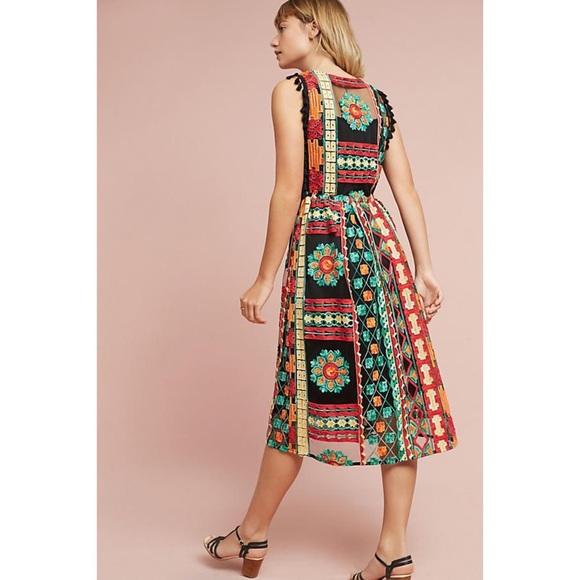 095a87406e7d Eva Franco Dresses | Anthropologie Saskia Embroidered Dress | Poshmark